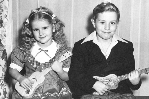 kids with guitars